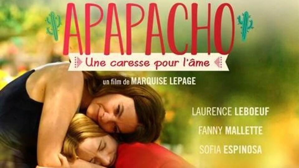 affiche du film apapacho: une caresse pour l'âme.