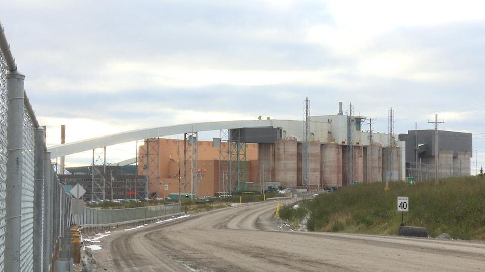 Les installations d'ArcelorMittal à Fermont
