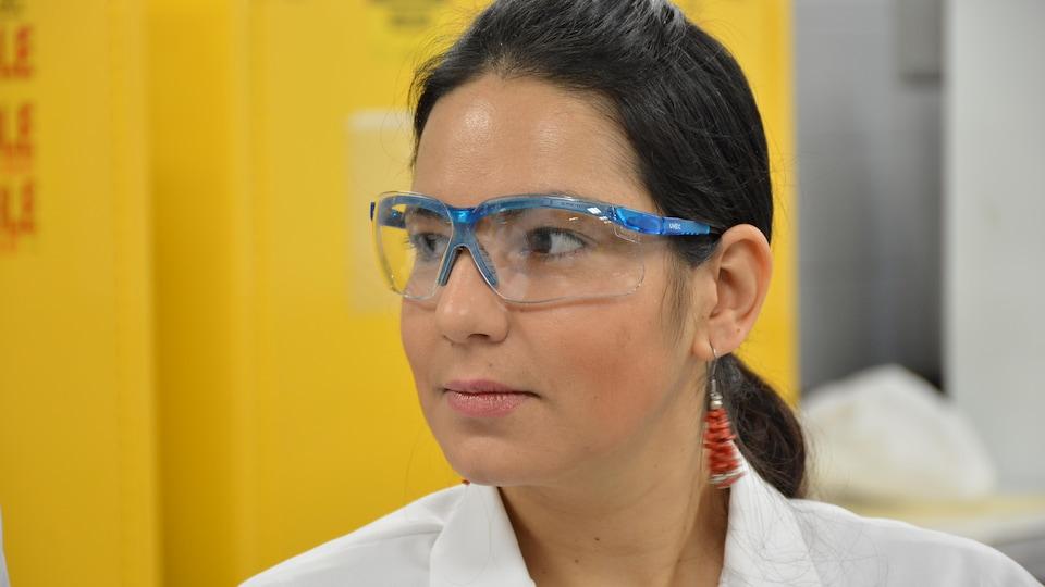 Nury Ardila, finissante au doctorat en génie chimique à l'École polytechnique de Montréal