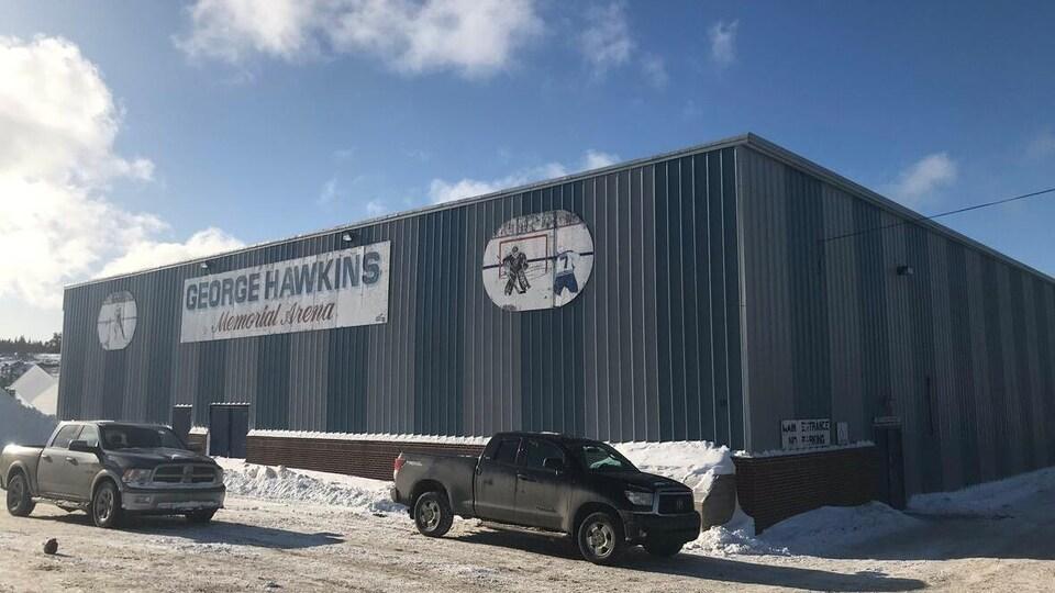 L'aréna George Hawkins, à Twillingate.