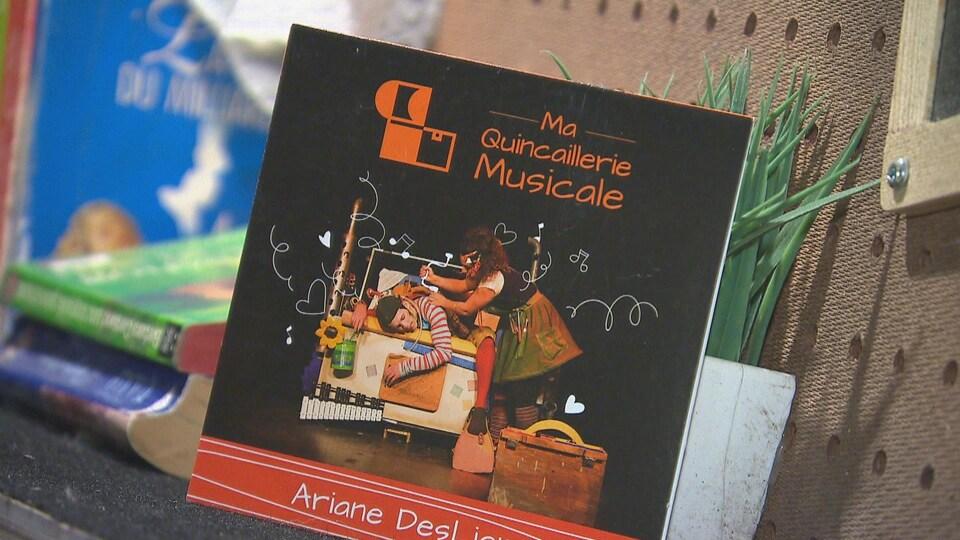 Ariane a lancé son premier disque, Ma quincaillerie musicale