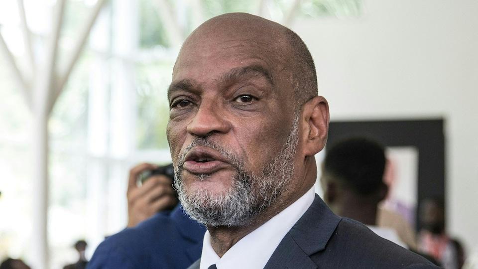 Le premier ministre haïtien Ariel Henry