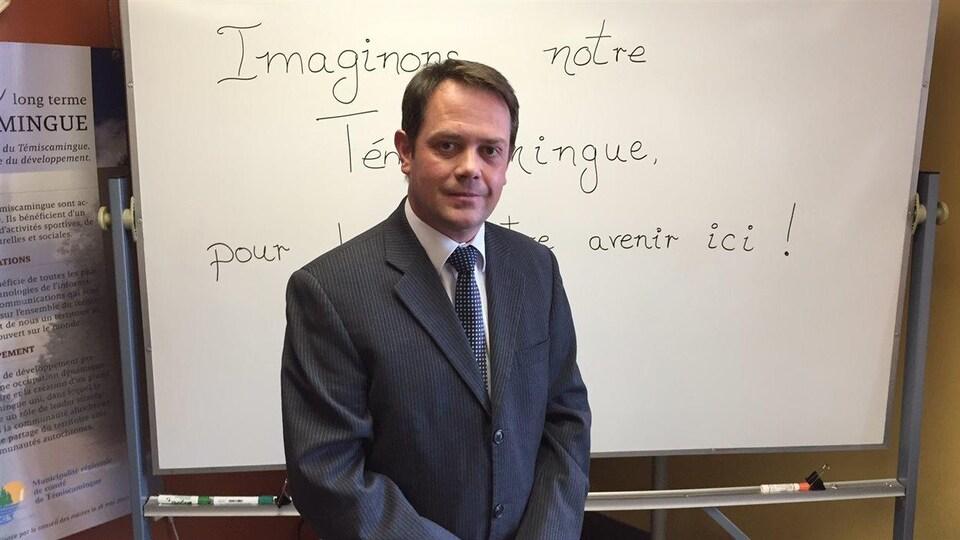 Le préfet du Témiscamingue, A. Warolin
