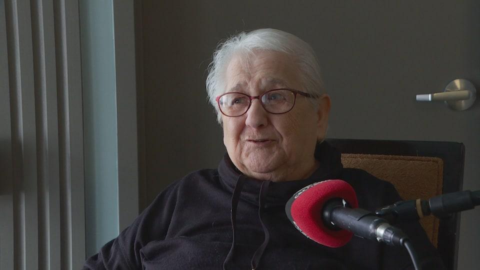 Marie-Anne Arsenault interviewée.
