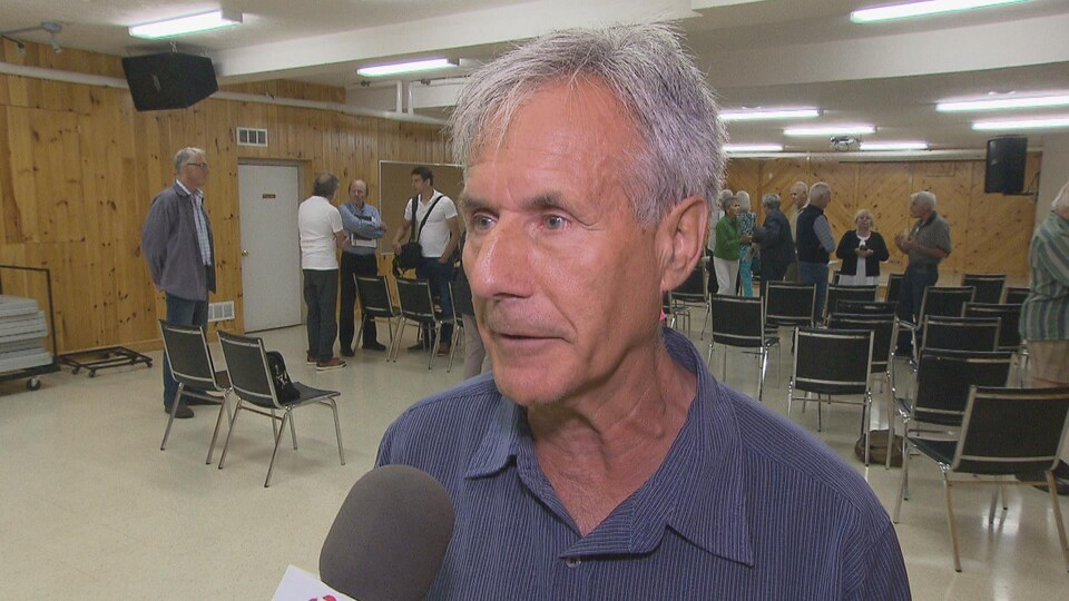 Arthur Melanson, résident de Pointe-du-Chêne et membre de l'association Red Dot.
