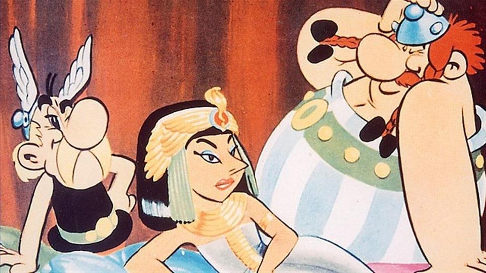 Une image tirée du film <i>Astérix et Cléopâtre</i>, que Ciné-cadeau diffuse souvent.