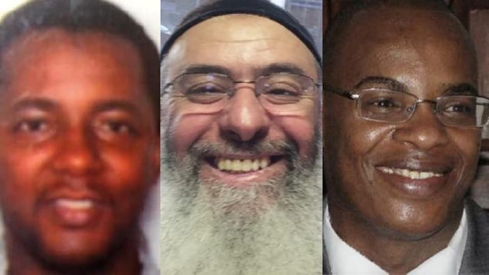 Ibrahima Barry, Azzeddine Soufiane et Mamadou Tanou Barry