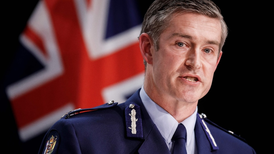 Le commissaire de police Andrew Coster.