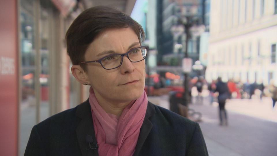 Aurélie Lacassagne, entrevue à Radio-Canada