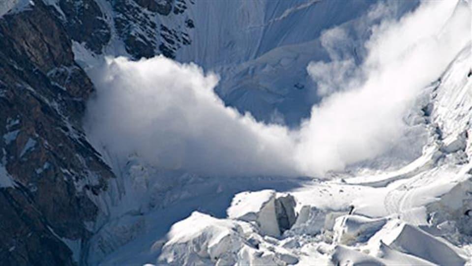 Une avalanche