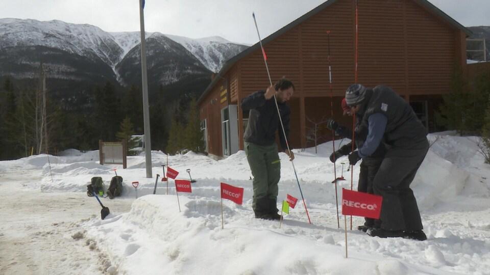 Journée de sensibilisation aux risques d'avalanches dans le parc de la Gaspésie