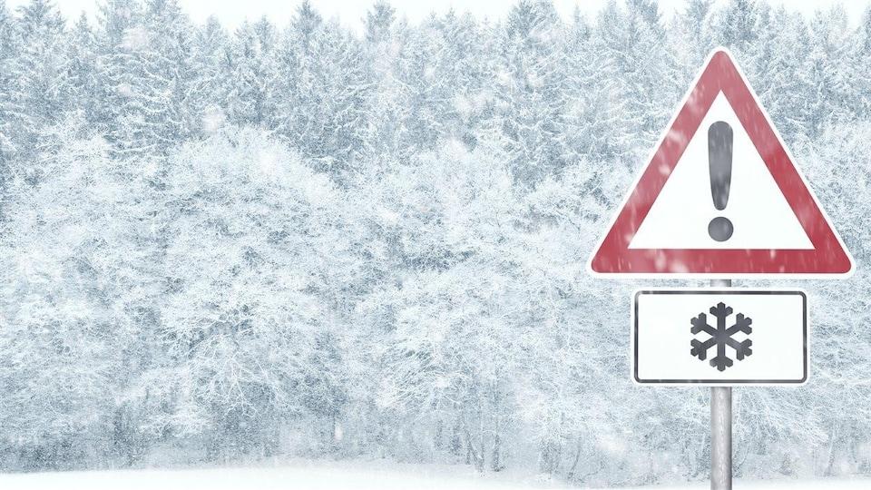 Les quatre provinces atlantiques recevront un cocktail météo qui comprend de la neige, de la pluie et potentiellement du grésil et de la pluie verglaçante.