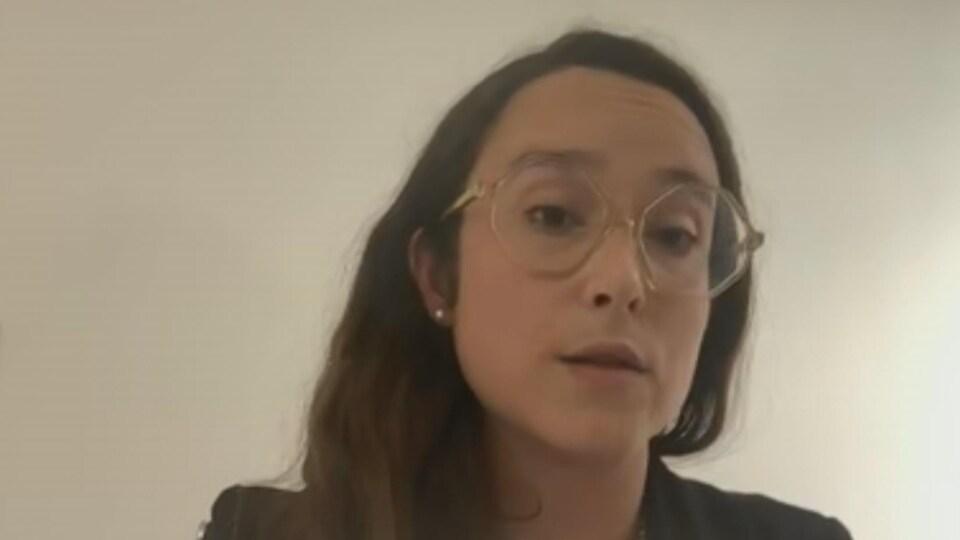 Julie Belisle, avocate