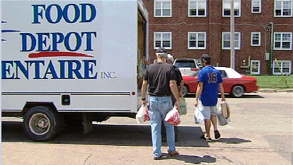 Au Nouveau-Brunswick, la majorité des clients des banques alimentaires sont prestataires de l'aide sociale.