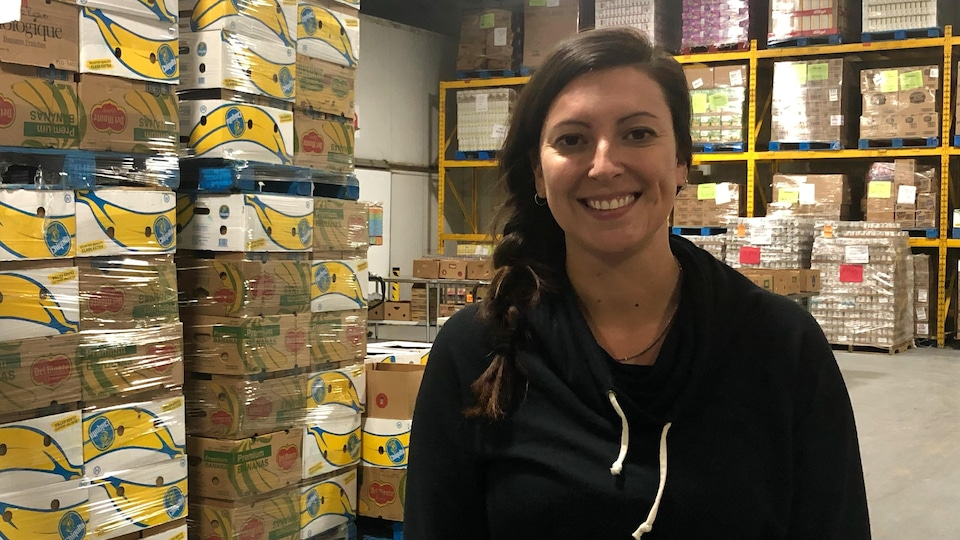Chantal Sénécal, directrice de Food Depot Alimentaire.