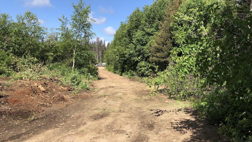 Le chemin d'accès à la rivière Moisie n'est plus bloqué par une barricade.