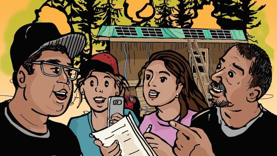 Page couverture de la seconde BD de l'IDDPNQL.