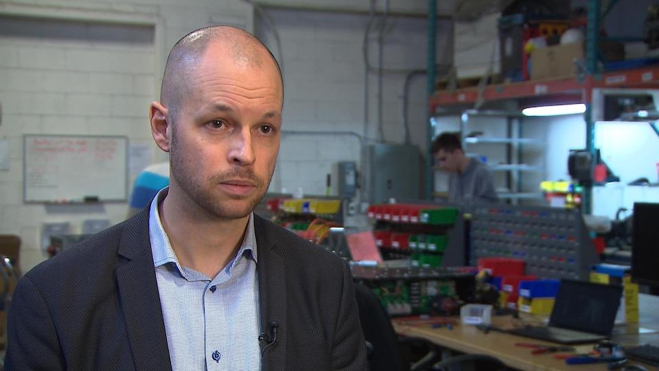 Benoit Lacroix, cofondateur et vice-président, ventes et marketing, Effenco.