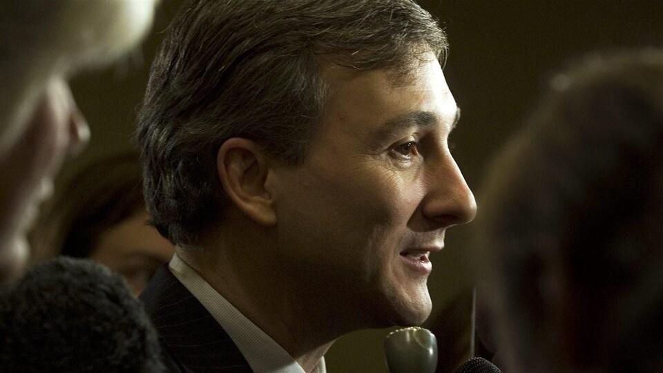 Bernard Lord, ancien premier ministre du Nouveau-Brunswick.