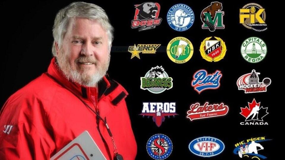 Bernie Lynch, entraîneur de hockey.