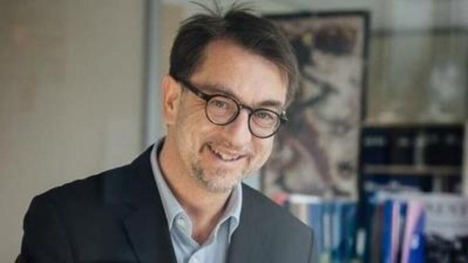 Bertin Leblanc, porte-parole de l'OIF