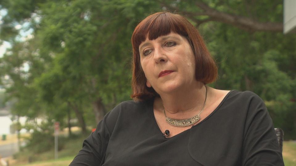 Beth Mohle, en entrevue à Radio-Canada