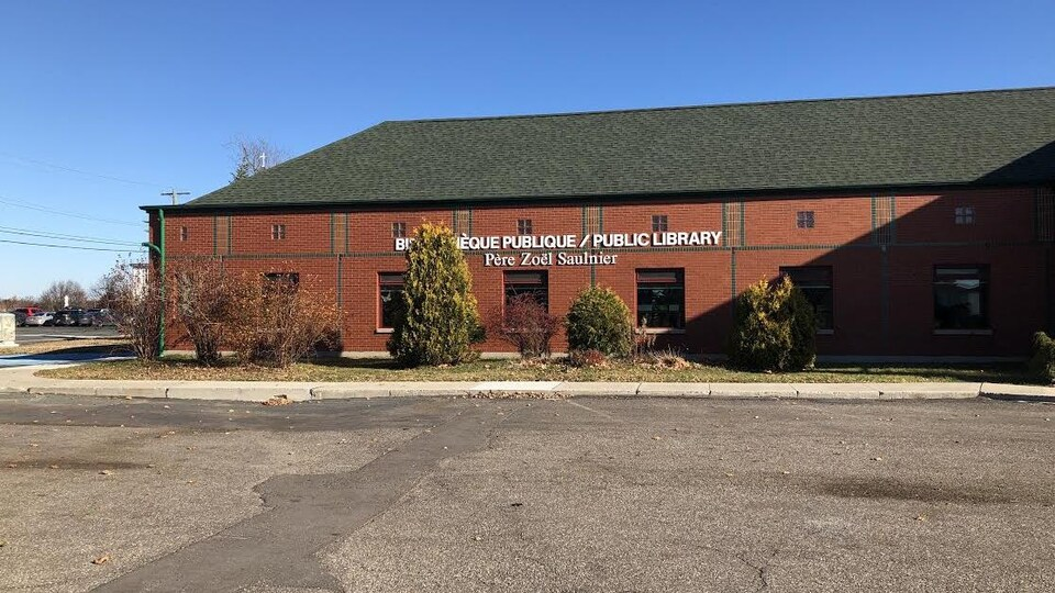 La bibliothèque publique de Tracadie