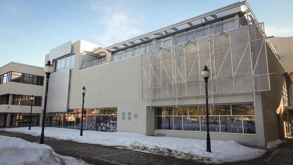 La bibliothèque Gatien-Lapointe de Trois-Rivières.