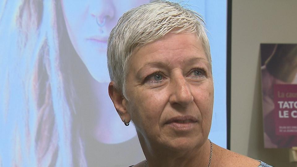 La directrice de la DPJ du Bas-Saint-Laurent, Anne Duret