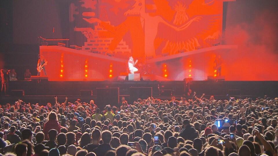 Billy Talent a enflammé les plaines d'Abraham lors du grand spectacle pour souligner le 150e anniversaire de la Confédération