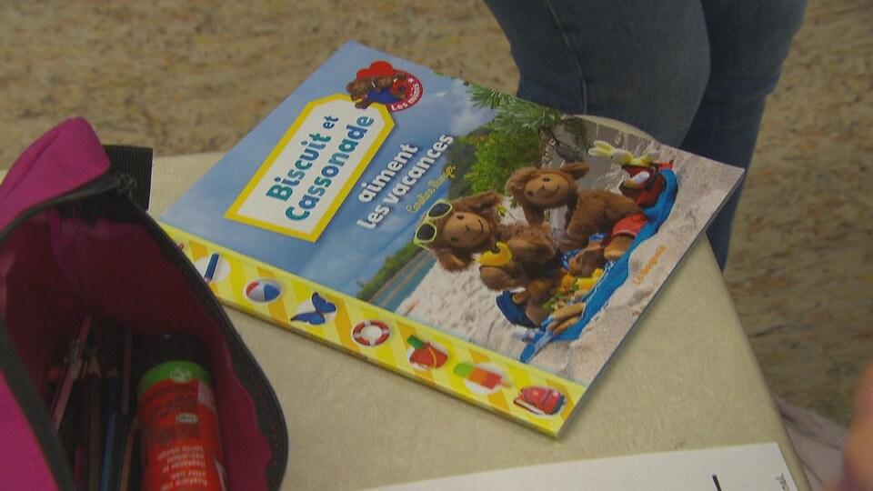 La couverture d'un livre de Biscuit et Cassonade