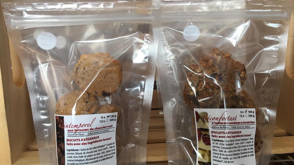 Des biscuits artisanaux