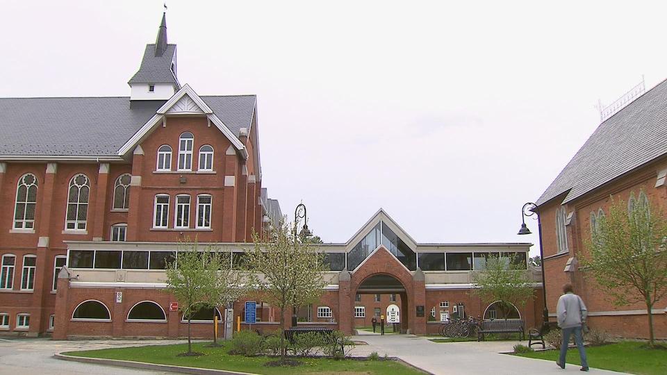 Le campus de l'Université Bishop's.