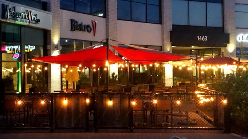 Le restaurant de Benoît Marcotte.