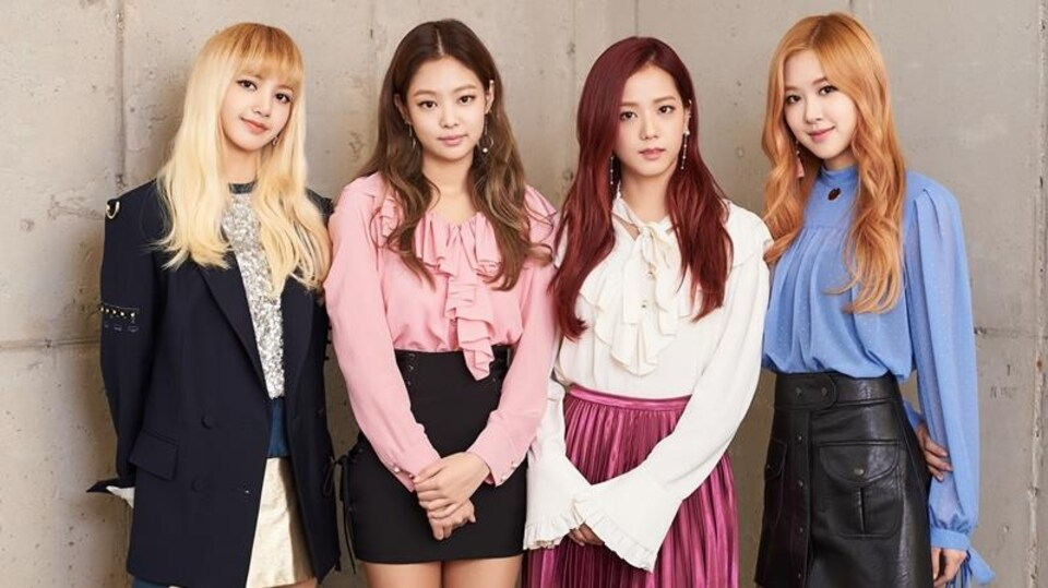 Le groupe Blackpink