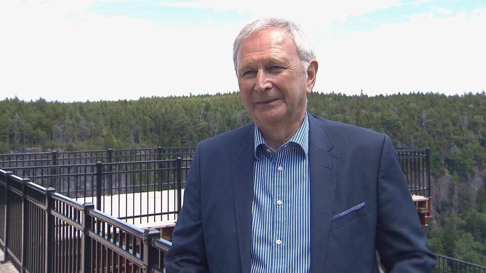 Le premier ministre du Nouveau-Brunswick, Blaine Higgs, le 7 juillet 2020.