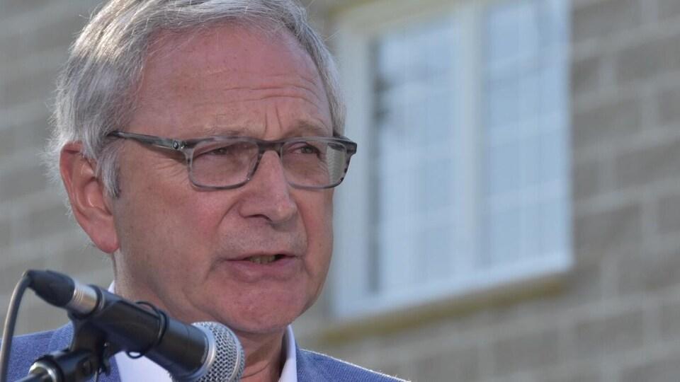 Blaine Higgs, chef du Parti progressiste-conservateur.