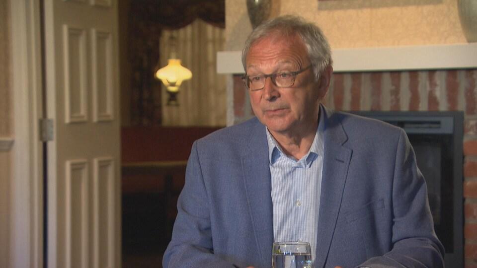 Le chef progressiste conservateur du Nouveau-Brunswick, Blaine Higgs, le 2 septembre 2020.