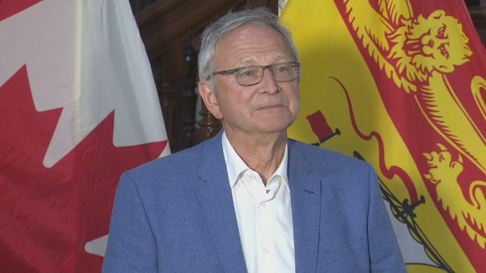 Le premier ministre du Nouveau-Brunswick Blaine Higgs, le 21 juillet 2020.