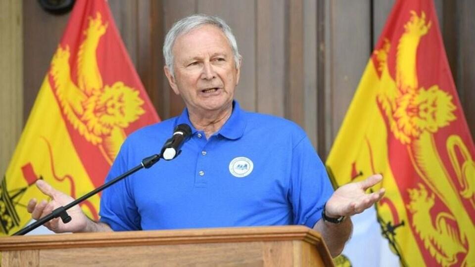 Le premier ministre du Nouveau-Brunswick, Blaine Higgs.