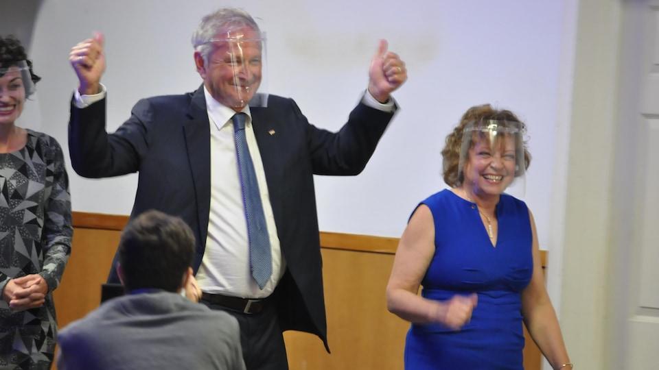 Le chef du Parti progressiste-conservateur, Blaine Higgs, le 14 septembre 2020.