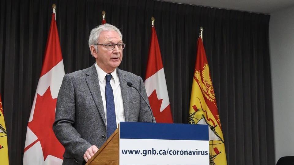 Le premier ministre Blaine Higgs fait le point sur la pandémie.