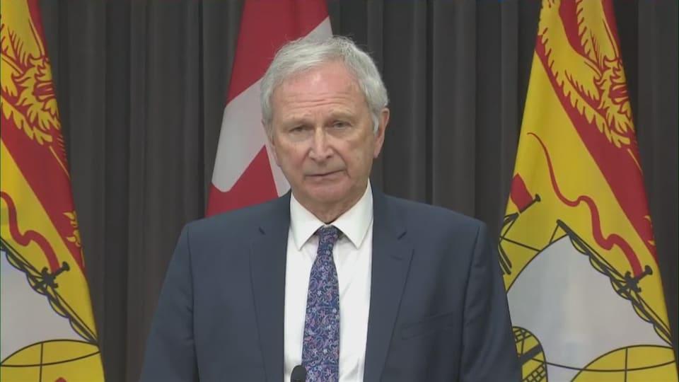 Blaine Higgs, premier ministre du Nouveau-Brunswick.