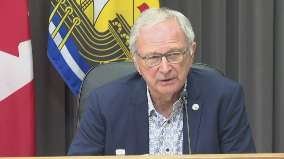 Le premier ministre du Nouveau-Brunswick Blaine Higgs.