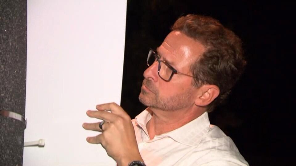 Le chef du Bloc québécois, Yves-François Blanchet.