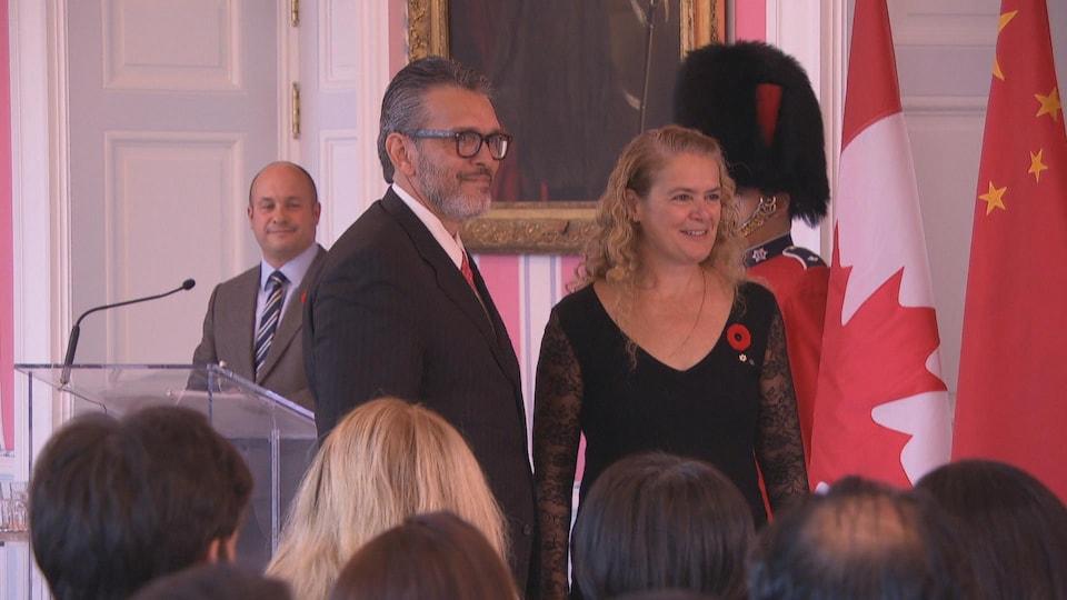 Le nouvel ambassadeur du Venezuela à Ottawa, Orlando Viera Blanco.