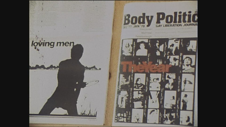 Couverture du magazine The Body Politic
