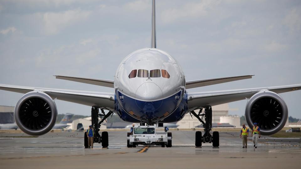 Un Boeing Dreamliner.