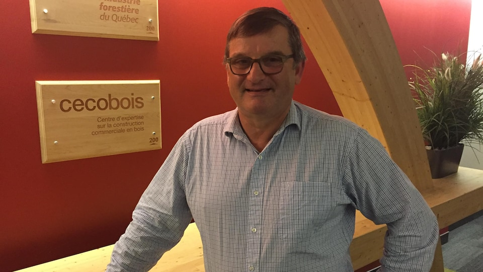 Gérald Beaulieu, ingénieur et directeur du Centre d'expertise sur la construction commerciale en bois.