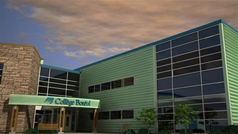 Le campus de Timmins du Collège Boréal